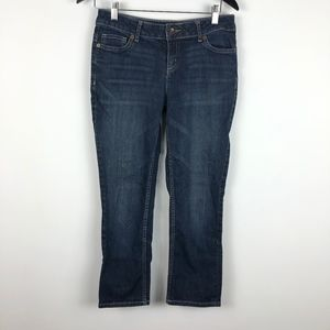 SIMPLY VERA WANG Women's Sz 6 Straight Blue Jeans